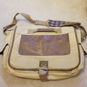 Brand new never used messenger satchel school bag